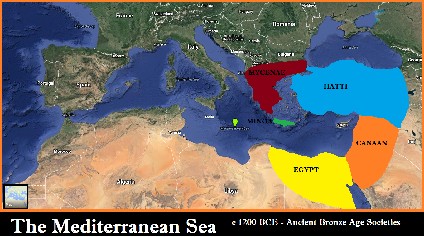 The Mediterranean Sea - c1200bce